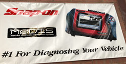 Snap-on Modis #1 for diagnosing your vehicle