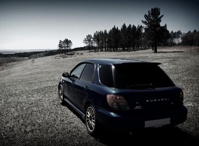 Subaru back